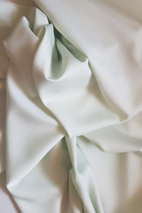 Двулицева ластична вълна сатен/мат цвят ментаArmani