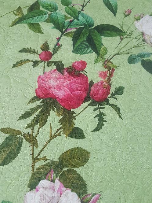 Плътен памук тип жакард на рози Dolce&Gabbana