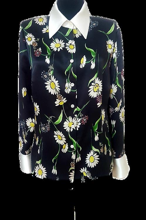 Копринена Риза на маргаритки