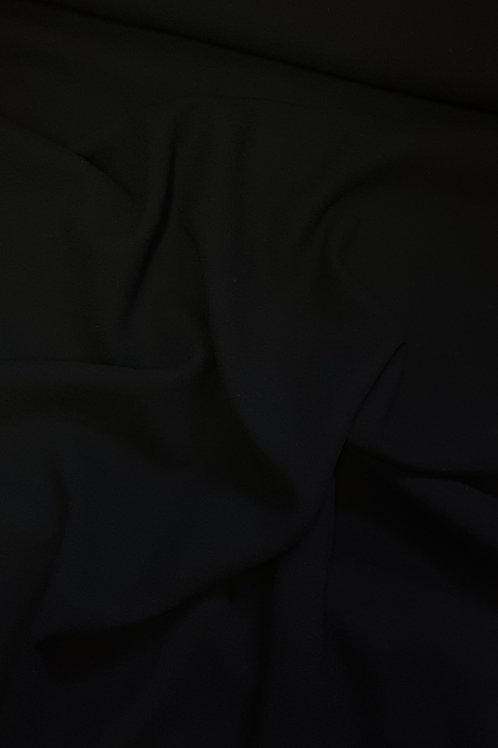 Вълна  Жоржет черна Armani