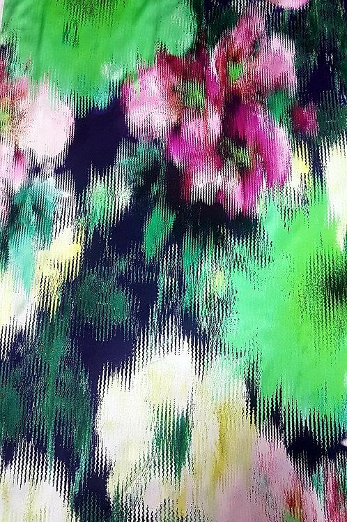 Сатен ластична коприна Dolce & Gabbana