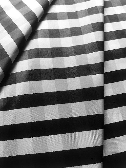 Тафта пепит санжен бяло и черно