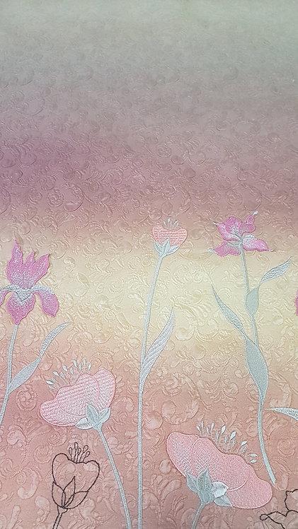Коприна на бродирани цветя Giambattista Valli