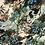 Thumbnail: Коприна Цветя в зелени нюанси Alberta Ferretti