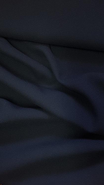 Тъмно синя Вълна Жоржет Armani