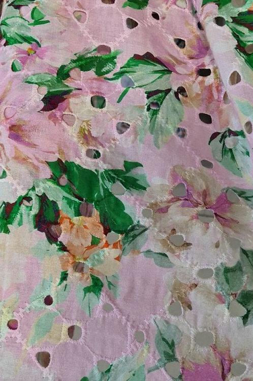 Памук sangallo в розово Dolce&Gabbana