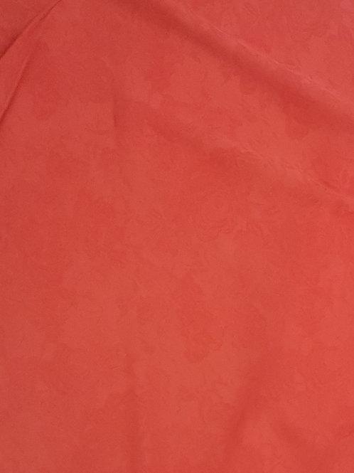 Ацетатна  коприна оранжево червена