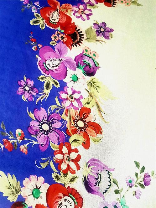 Син Шифон на Цветя Dolce & Gabbana