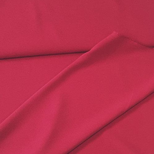 Вълнен плат в малинено червено