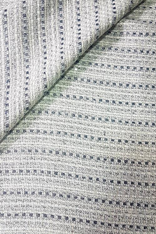 Бяло Букле със Сребърна Нишка Chanel