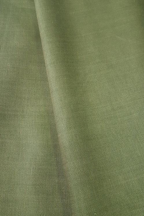 Лен с вискоза зелен цвят