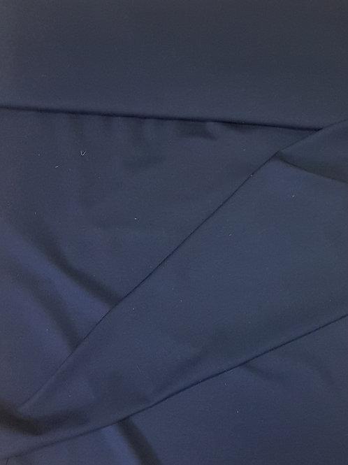 Тъмно синьо трико с вълна
