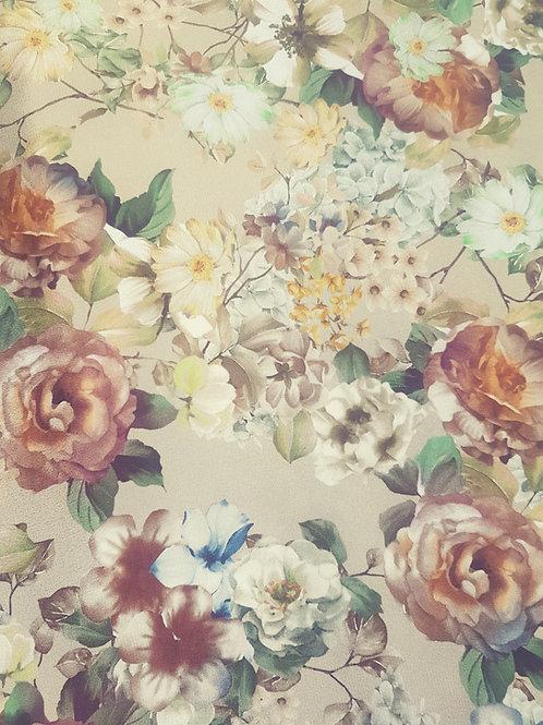 Бежова Коприна на Цветя