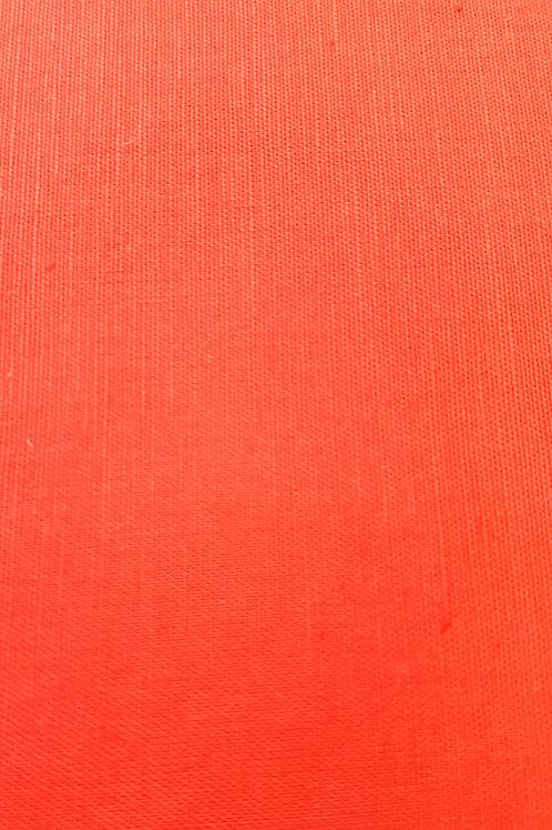 Лен в оранжево червен цвят