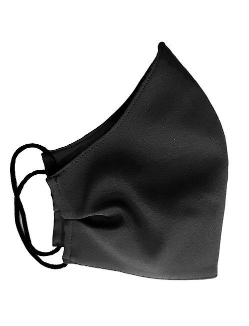 Черна Маска от коприна