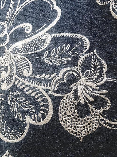 Плътна Вълна на цветя с лурекс Armani