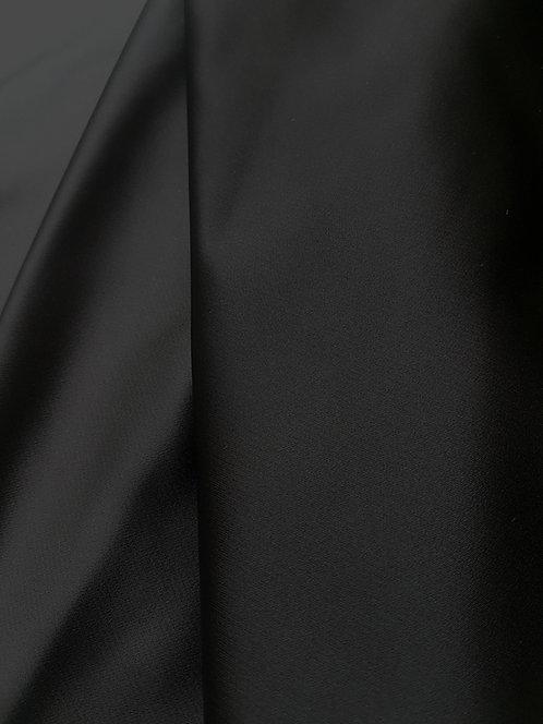 Сатенирана черна Тафта  Valentino