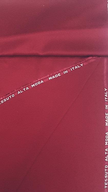 Сатенирана вискозна коприна цвят бордо Cady