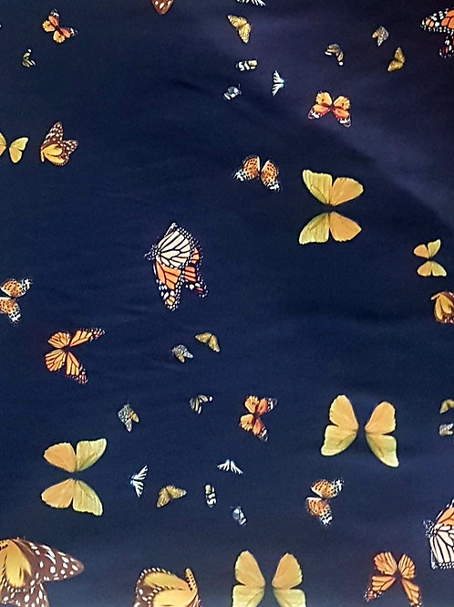 Коприна ластична сатенирана на пеперуди Blumarine