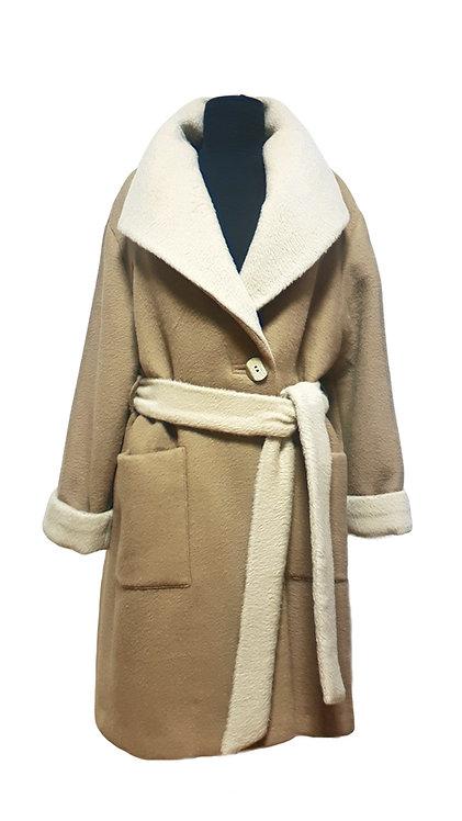 Палто от Двулицев Кашмир
