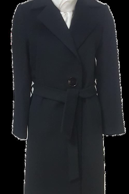 Палто от черен кашмир
