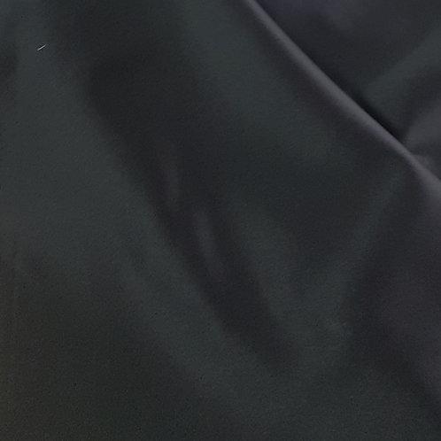 Плътен ластичен сатен  черен