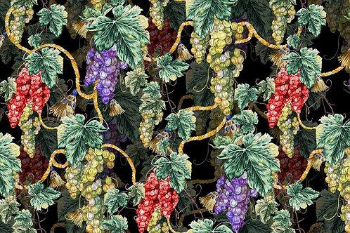 Коприна  грозде Dolce&Gabbana