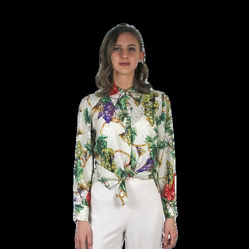 Копринена риза с грозде
