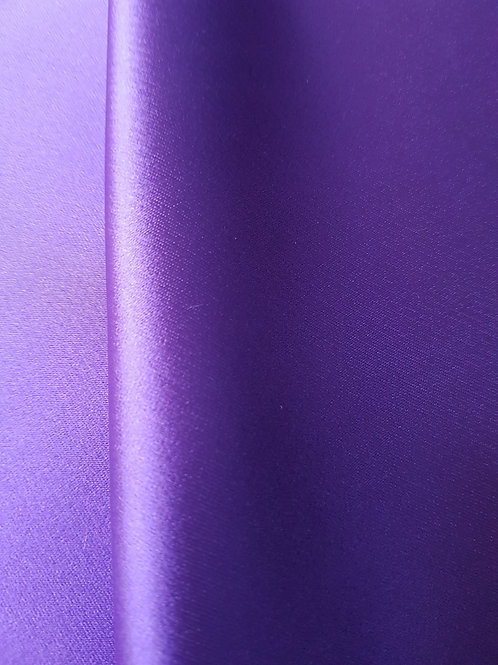 Сатенирана лилава тафта Valentino