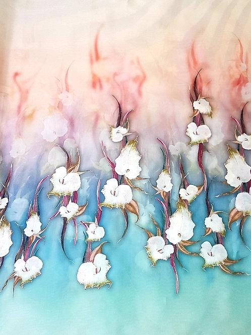 Органза на цветя Haute Couture