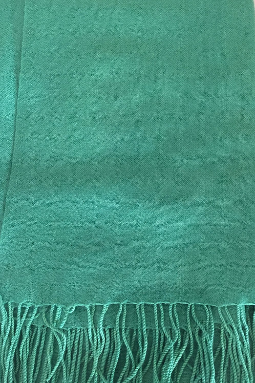 Зелен Шал Вълна Kашмир Coveri Collection