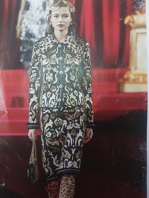 Сатенирана вълна Dolce&Gabbana
