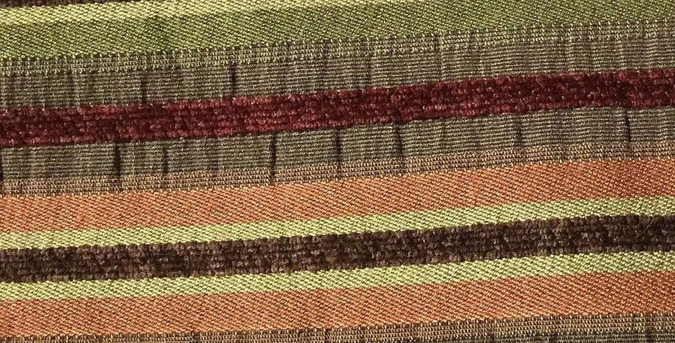 Salmon - Green - Brown R/R Textured