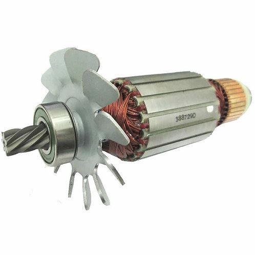 Induzido Rotor Para Serra 2414b 220v 518729-9 Makita