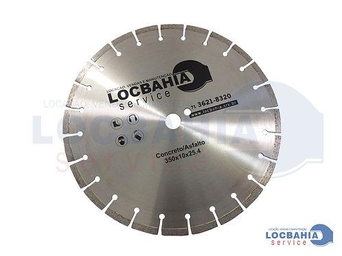 Disco Diamantado Asfalto/Concreto 350 S 750 Plus DTB201611J - LOCBAHIA