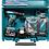 Thumbnail: Furadeira de Impacto DHP483RF3 + 2 Baterias, Carregador e Maleta - MAKITA