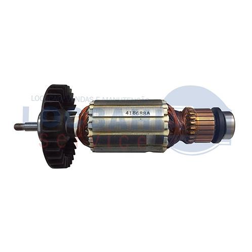 Induzido Rotor Para Serra Mármore MCC402 127V 518688-7 MAKITA