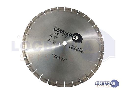 Disco Diamantado Concreto/Asfalto 161JF10 - LOCBAHIA