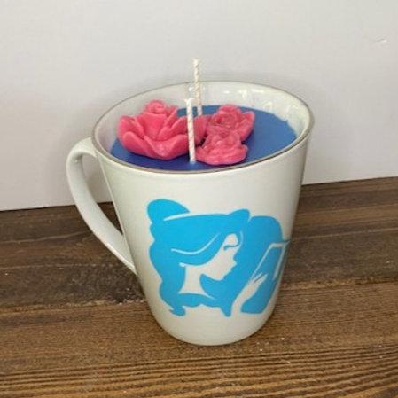 Disney Inspired Mug Candle
