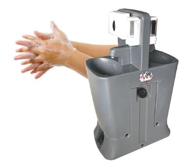 Dual Sink-Portable Hand Washing Station