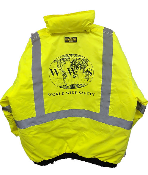 Safety Jacket (Lime)