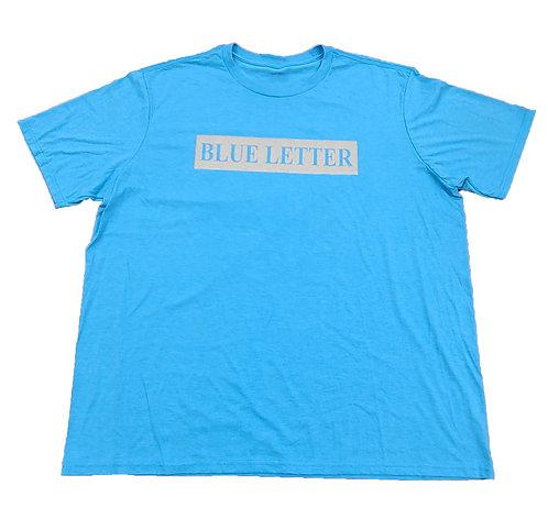 Blue Letter T-shirt