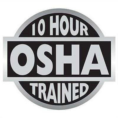 OSHA 10-Hour Course (ENGLISH)