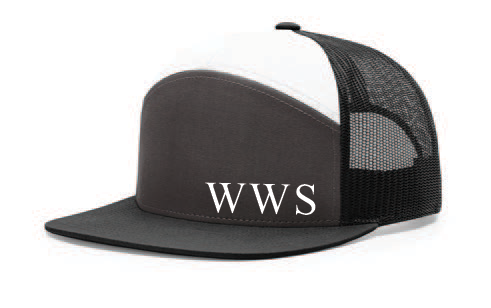 WWS 7 Panel Trucker Hat