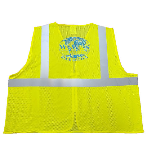 Safety Vest (Lime)