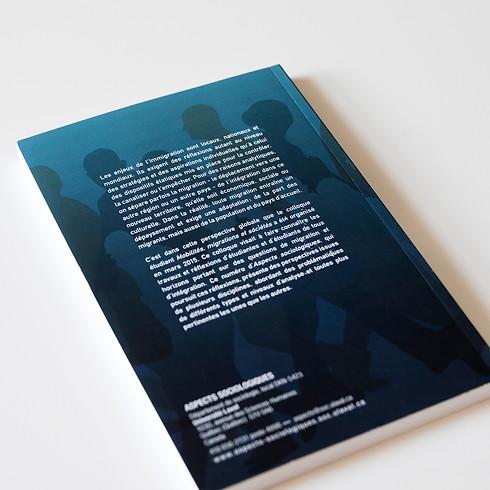 Jaquette de livre / graphisme