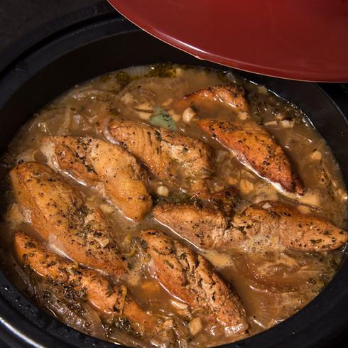 Tajine de poulet de Valérie