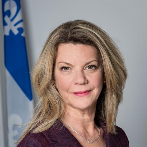 Marie Gendron, sous-ministre de la Culture et des communications du Québec.