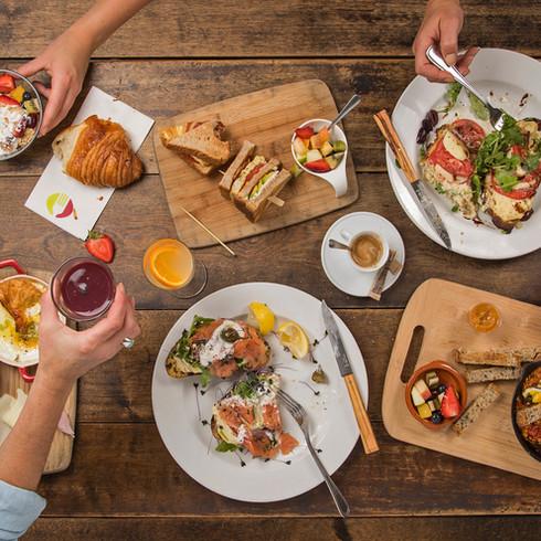 Menu déjeuner - Morena