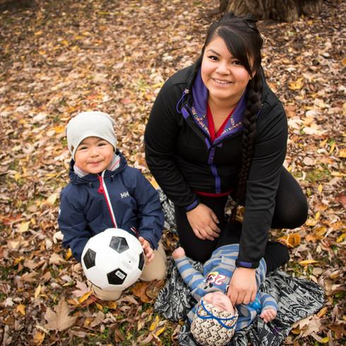 Christina et ses fils - Client : Mères et monde